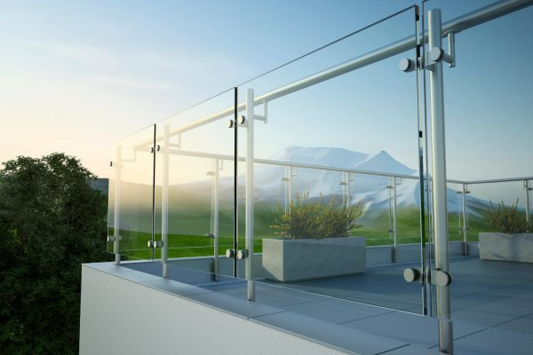 Glass windbreak